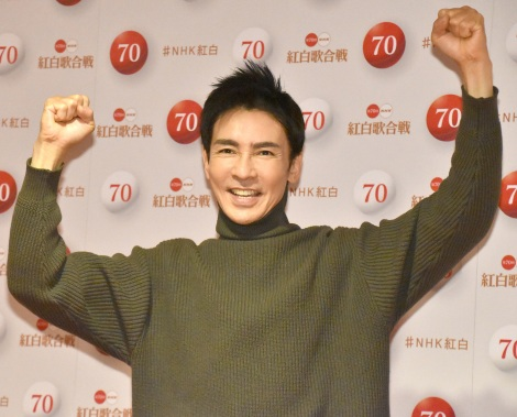 『第70回NHK紅白歌合戦』のリハーサルに参加した郷ひろみ (C)ORICON NewS inc.