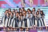 『第70回NHK紅白歌合戦』に出場した日向坂46(C)ORICON NewS inc.