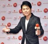 『第70回NHK紅白歌合戦』の囲み取材に参加した三山ひろし (C)ORICON NewS inc.