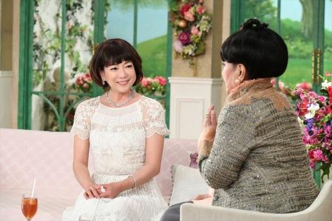 1月7日放送、『徹子の部屋』ゲストは堀ちえみ。2019年2月の舌がん手術後、初の肉声を披露(C)テレビ朝日