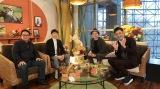 『うまンchu』で対談を行った(左から)安藤勝己、武豊、シャンプーハット(C)カンテレ