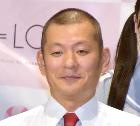 =LOVEの6thシングル「ズルいよ ズルいね」リリース記念イベントに出席したU字工事の益子卓郎 (C)ORICON NewS inc.