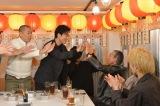 柳葉敏郎とはこの日が初対面だった桐谷健太&東出昌大&磯村勇斗(C)テレビ朝日