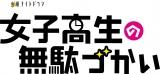 1月期ドラマ『女子高生の無駄づかい』ロゴ