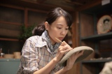 連続テレビ小説『スカーレット』第13週・第78回より。初めての作品を完成させる(C)NHK
