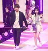 『第23回Seventeen夏の学園祭2019』に出演した(左から)佐野勇斗、久間田琳加 (C)ORICON NewS inc.