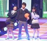『第23回Seventeen夏の学園祭2019』に出演した(左から)岡本莉音、板垣瑞生、木内舞留 (C)ORICON NewS inc.