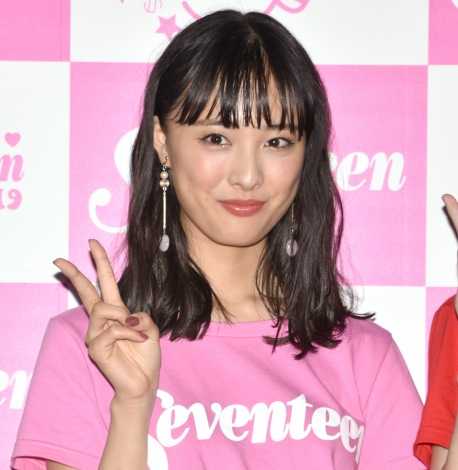 『第23回Seventeen夏の学園祭2019』後囲み取材に出席した大友花恋 (C)ORICON NewS inc.