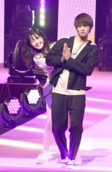 『第23回Seventeen夏の学園祭2019』に出演した佐野勇斗&久間田琳加 (C)ORICON NewS inc.