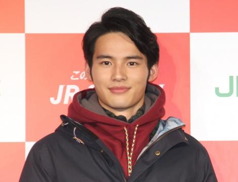 『JR SKISKI キャンペーン』記者発表会に出席した岡田健史 (C)ORICON NewS inc.