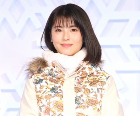『JR SKISKI キャンペーン』記者発表会に出席した浜辺美波 (C)ORICON NewS inc.
