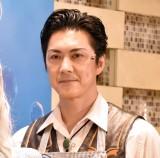 ミュージカル『シャボン玉 とんだ 宇宙まで とんだ』の公開ゲネプロ前囲み取材に出席した吉野圭吾 (C)ORICON NewS inc.