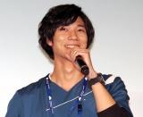 『アライブ がん専門医のカルテ』舞台挨拶に出席した清原翔 (C)ORICON NewS inc.