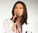 『アライブ がん専門医のカルテ』舞台挨拶に出席した68812松下奈緒 (C)ORICON NewS inc.