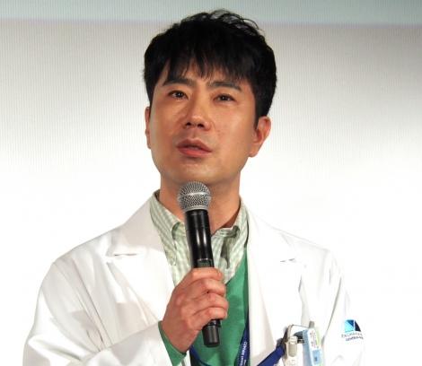 『アライブ がん専門医のカルテ』舞台挨拶に出席した藤井隆 (C)ORICON NewS inc.