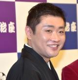 『三山ひろし特別公演』舞台公開後取材に出席した立川志の春 (C)ORICON NewS inc.
