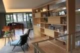 広い無柱空間ながら、2階にピアノも置けるほどの強度 (C)oricon ME inc.
