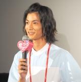 ドラマ『恋はつづくよどこまでも』の舞台あいさつに参加した渡邊圭祐 (C)ORICON NewS inc.