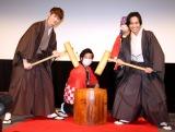 映画『his』トークイベントに登場した(左から)宮沢氷魚、藤原季節 (C)ORICON NewS inc.
