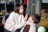 高杉梅(太田莉菜)、檜山トヲル(飛永翼)=ドラマパラビ『来世ではちゃんとします』第1話(1月8日放送)(C)「来世ではちゃんとします」製作委員会