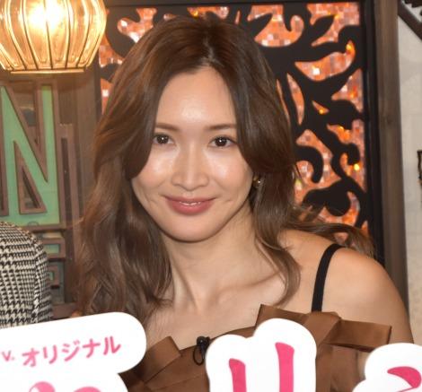 """結婚において大事なものを語った紗栄子=AbemaTVの""""新婚""""観察リアリティーショー『いきなりマリッジ3』の合同取材会 (C)ORICON NewS inc."""