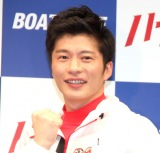 ボートレース新CMシリーズ『ハートに炎を。BOAT is HEART』発表会に登場した田中圭 (C)ORICON NewS inc.