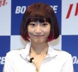 ボートレース新CMシリーズ『ハートに炎を。BOAT is HEART』発表会に登場した武田玲奈 (C)ORICON NewS inc.