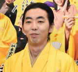 『BS笑点ドラマスペシャル 初代 林家木久蔵』囲み会見に出席した柄本時生 (C)ORICON NewS inc.