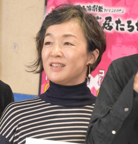 関西演劇祭『東京で芝居たろか!』の開催発表会見に出席したキムラ緑子 (C)ORICON NewS inc.