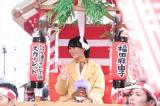 沿道からの「ゆりちゃん」の声援に朝ドラの影響力を実感(写真提供:NHK)