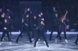アイスダンスに転向したフィギュアスケーターの高橋大輔がアイスショー『ICE EXPLOSION 2020』に登場。男性グループでの圧巻の「THE PHOENIX」も(C)テレビ東京