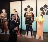 出演者の等身大パネル等が展示されている(C)NHK