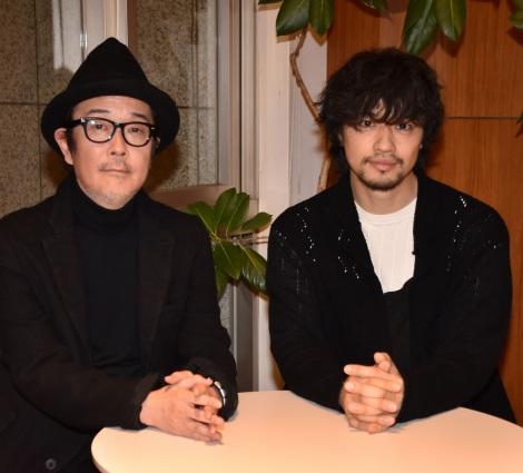 (左から)リリー・フランキー、斎藤工 (C)ORICON NewS inc.