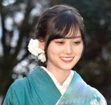 新成人メンバー成人式に登場した乃木坂46・山下美月 (C)ORICON NewS inc.