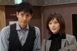 20日放送の『絶対零度〜未然犯罪潜入捜査〜』に出演する(左から)沢村一樹、本田翼 (C)フジテレビ