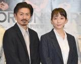 舞台『FORTUNE』の囲み取材に出席した(左から)森田剛、吉岡里帆 (C)ORICON NewS inc.