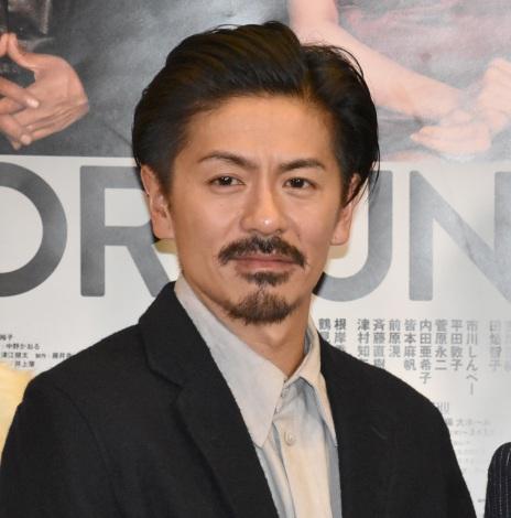 舞台『FORTUNE』の囲み取材に出席した森田剛 (C)ORICON NewS inc.