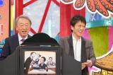 14日放送の『池上彰の関西人が知らないKANSAI』に出演する池上彰とブラックマヨネーズの吉田敬(C)カンテレ