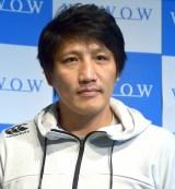 齊藤祐也氏=『WOWOW×iTSCOM presents ラグビーイベント』スペシャルトークショー (C)ORICON NewS inc.