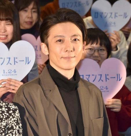 高橋一生=映画『ロマンスドール』公開直前イベント (C)ORICON NewS inc.
