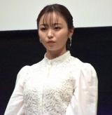 映画『転がるビー玉』完成披露試写会に出席した今泉佑唯 (C)ORICON NewS inc.