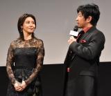 映画『AI崩壊』のジャパンプレミアに参加した(左から)松嶋菜々子、大沢たかお (C)ORICON NewS inc.