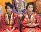 W主演舞台に意気込みを語った(左から)原嘉孝、山本亮太 (C)ORICON NewS inc.