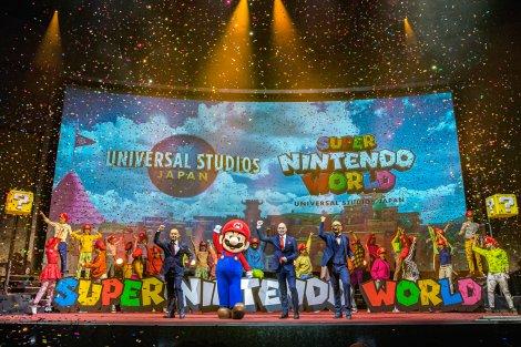 『SUPER NINTENDO WORLD』新情報&ユニバーサル・スタジオ・ジャパンの新ブランドキャンペーンの開催を発表(C)Nintendo