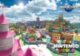 ユニバーサル・スタジオ・ジャパン『SUPER NINTENDO WORLD』エリアの完成予定の動画カット(C)Nintendo