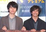 撮影中のエピソードや見どころを語った(左から)萩原利久、佐野岳(C)ORICON NewS inc.