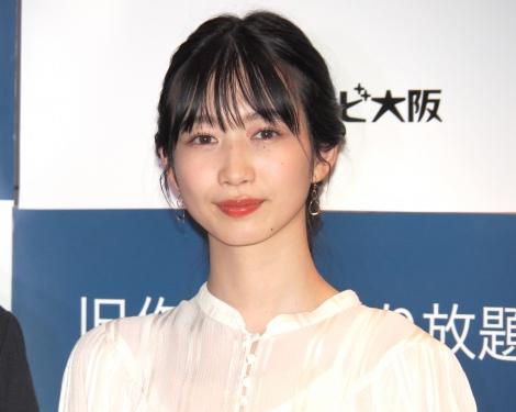 新ドラマ『大江戸スチームパンク』第1話完成披露試写会に出席した岡本夏美