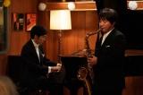 大学生になった和隆は親友の湯浅とジャズバンドを組み、青春時代を謳歌する=土曜ドラマ『心の傷を癒すということ』(1月18日スタート)(C)NHK