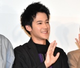 映画『サヨナラまでの30分』の大学生限定試写会イベントに登壇した葉山奨之 (C)ORICON NewS inc.