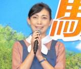 ドラマ『駐在刑事Season2』の記者会見に出席した田中美里 (C)ORICON NewS inc.